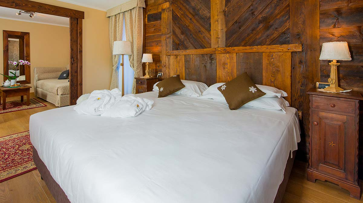 hotel Edelweiss Breuil Cervinia the rooms
