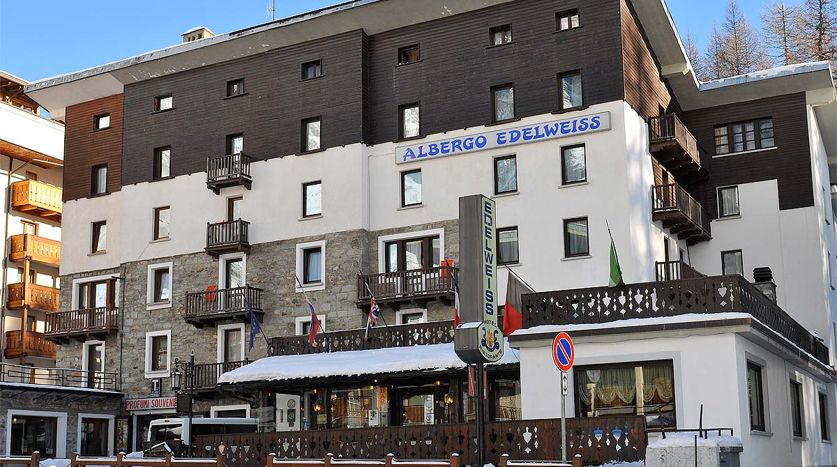 hotel Edelweiss Breuil Cervinia