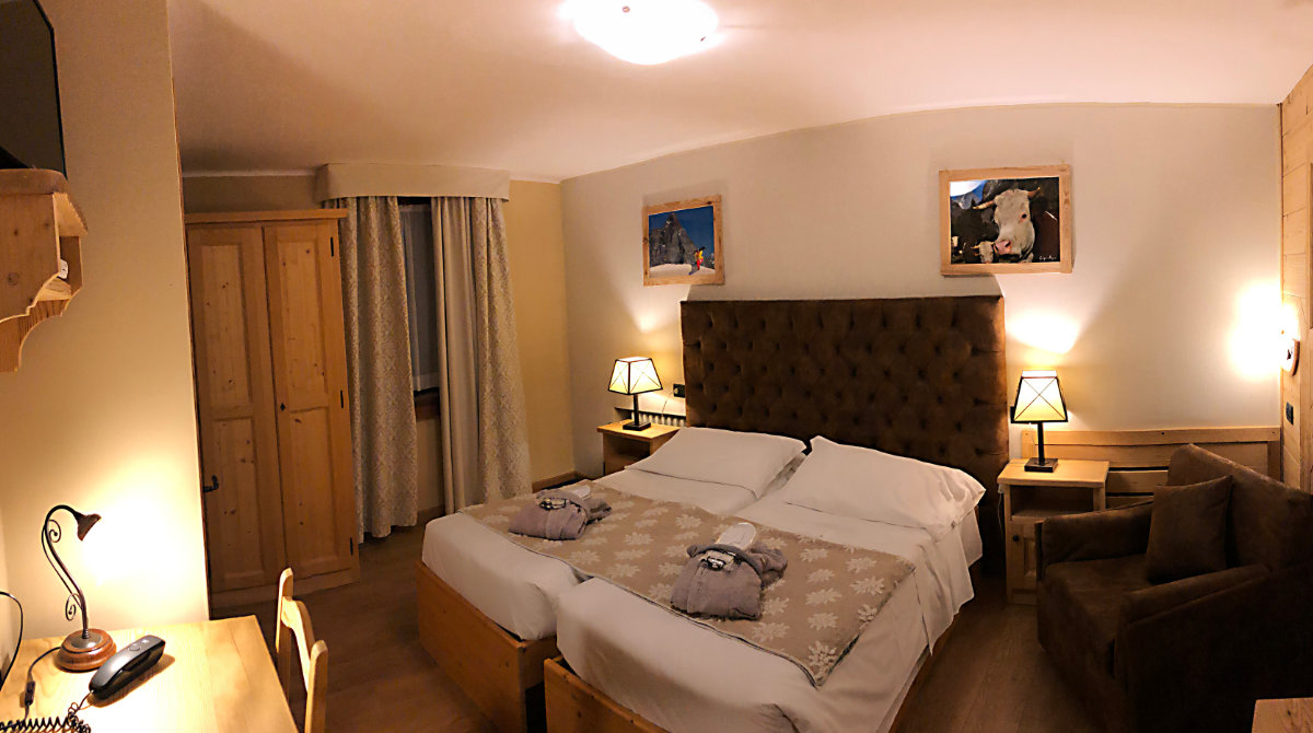 Hotel Edelweiss Breuil Cervinia  standard room