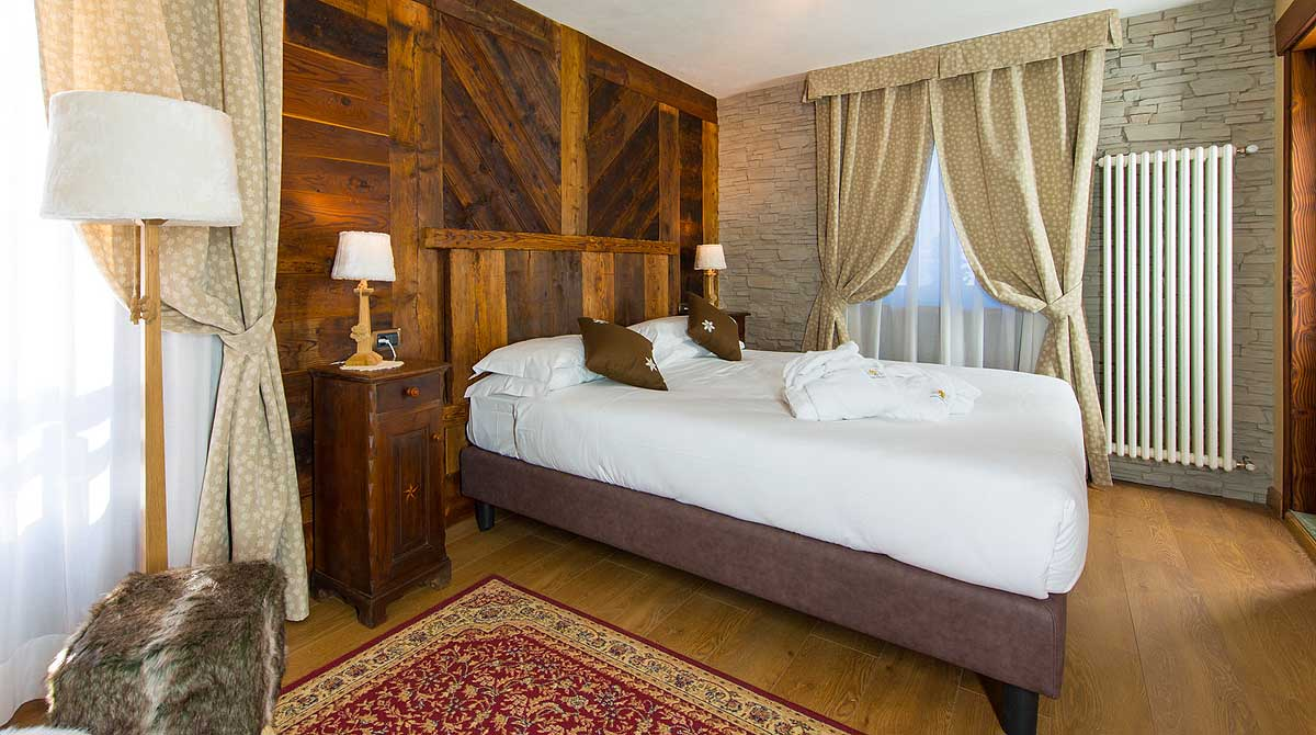 Hotel Edelweiss Breuil Cervinia suite galerie d'images